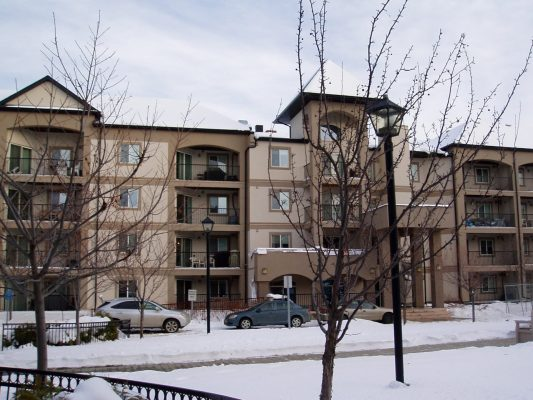 Edmonton Apartment Complex