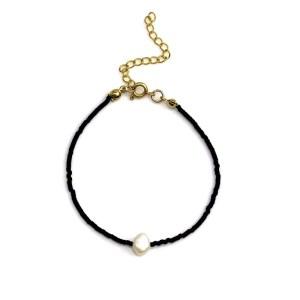 Miyuki bracelet Black Pearl