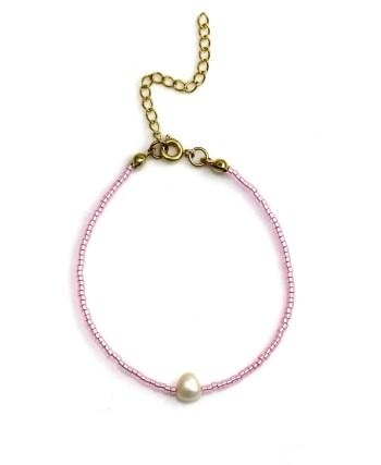 Miyuki bracelet Pink Pearl