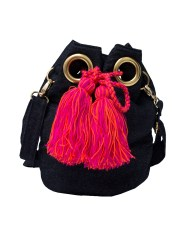 Jeans Wayuu mo-nique bag black jeans