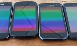 schlechter Winkel Displayfarben Displayfarben Galaxy_S Galaxy_S2 Nexus_S Incredible_S