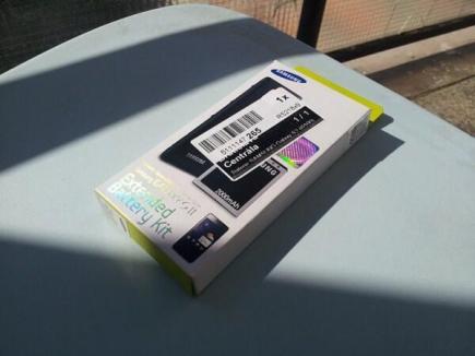 Samsung Galaxy S II offizielle Batterie 2000 (2)