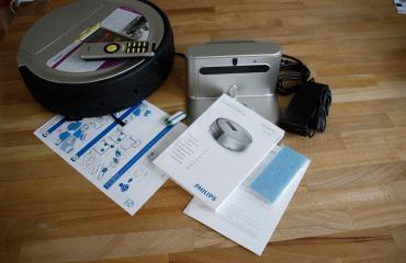 Philips Homerun FC9910 Staubsauger-Roboter Test