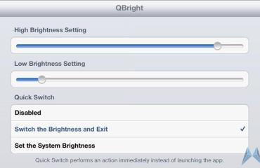 Quick Brightness
