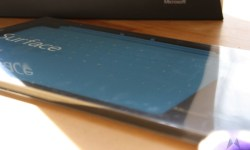 Microsoft Surface cyan touch cover IMG_8462