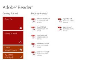 adobe reader windows rt