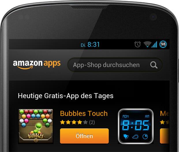 Bubbles Touch Amazon Gratis-App des Tages