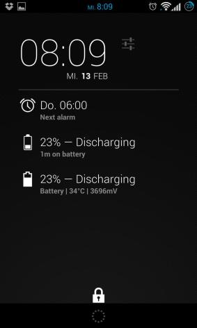 Dashclock Battery Extension Screenshot_2013-02-13-08-09-32