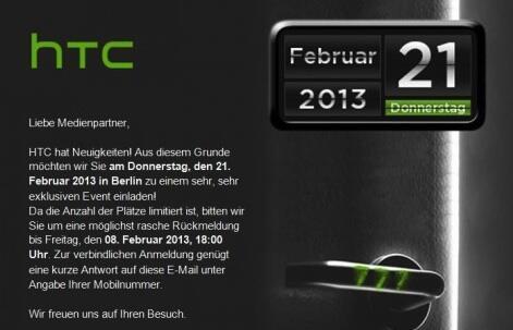 HTC Exklusiver Event