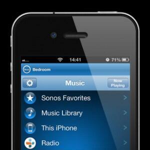 iPhone Sonos