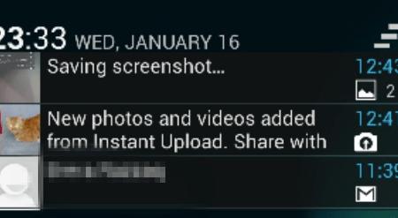 Lockscreen Notification Widget preview