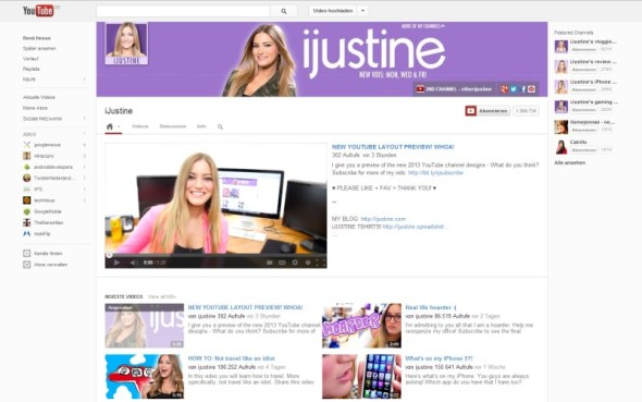 youtube redesign 02-2013