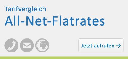 Tarifvergleich – All-Net-Flatrates