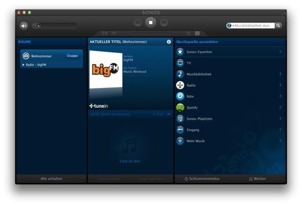 SONOS APP Bildschirmfoto 2013-04-12 um 16.48.42