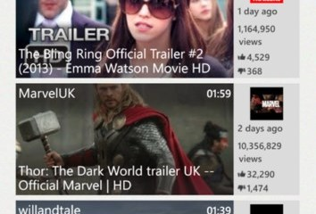 youtube windows phone