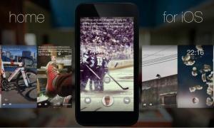 facebook home iphone