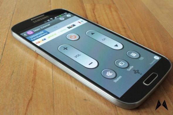 Samsung Galaxy S4 Fernbedienung IMG_2518