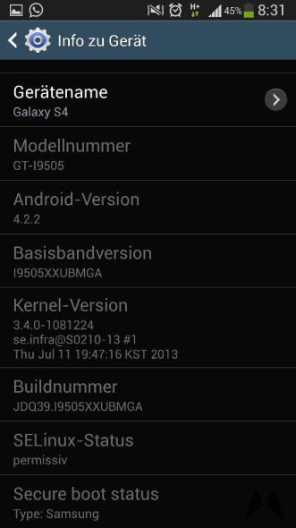 Galaxy S4 Update IMG-20130722-WA0002