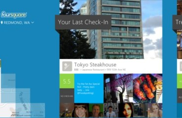 Foursquare for Windows 8