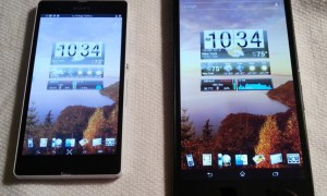 Xperia-Z-Ultra-Vs-Xperia-Z-Home-Scree-layout-Comparison 3