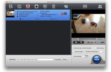 MacX Video Converter Pro Übersicht