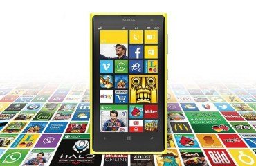 Nokia Windows Phone Header