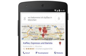 Google Suche Header deutsch