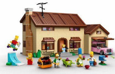 lego simpsons header