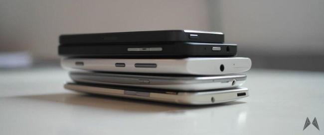 Smartphones Header