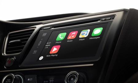 Apple CarPlay Header
