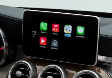Apple CarPlay Mercedes Benz