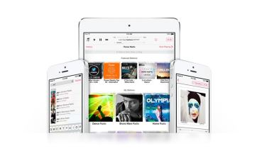 Apple iTunes Radio Header