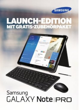 Galaxy NotePRO Launch-Edition