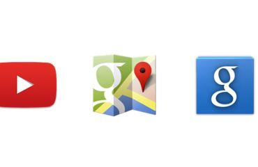 Google YouTube Maps Suche Icon Header