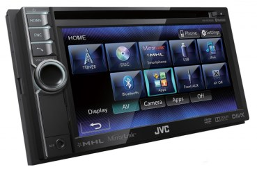 JVC Smartphone AV-Receivers  MirrorLink