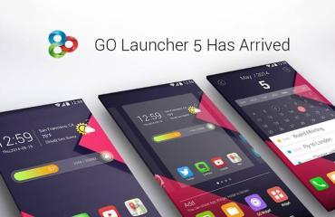 GO Launcher 5 Header