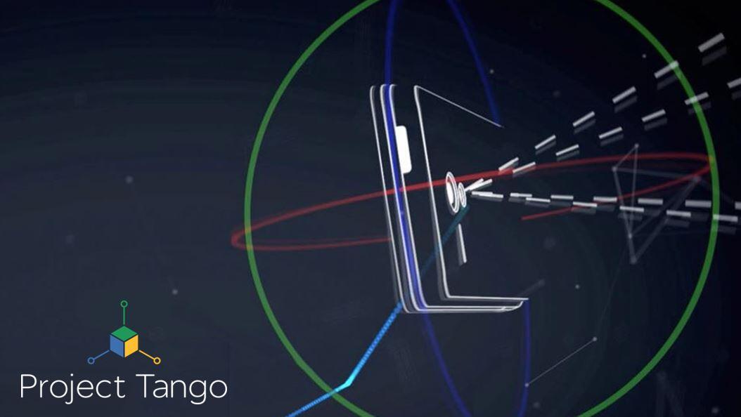 Google Project Tango Logo Header