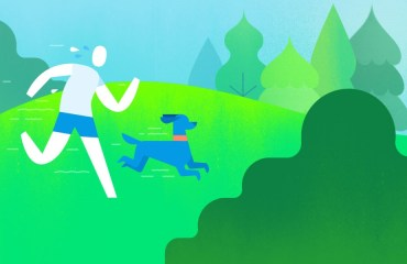 Google Fitness Header