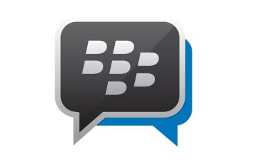 BlackBerry Messenger BBM Logo Header