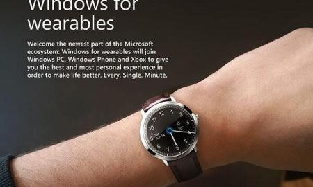 Microsoft Smartwatch Konzept Header