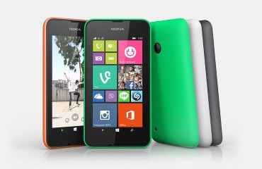 Nokia Lumia 530 Header