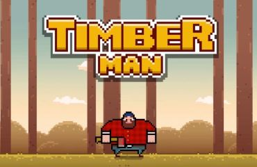 Timberman Header