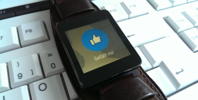 Facebook Android Wear Support