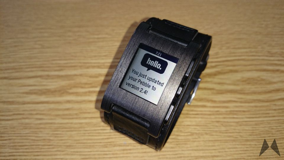 Pebble Smartwatch erhält Update auf Version 2.4