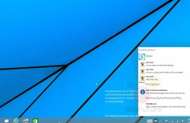 Windows 9 Notification-Center