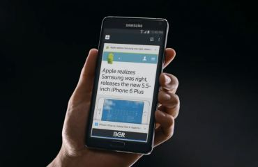 samsung iphone 6 plus spot