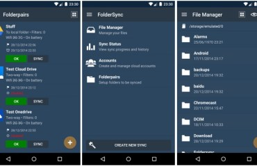 folder sync android