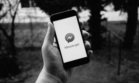Facebook Messenger Header