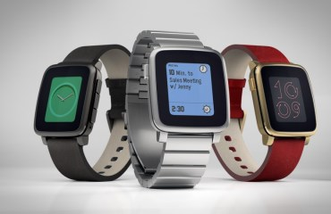 Pebble Time Steel Header