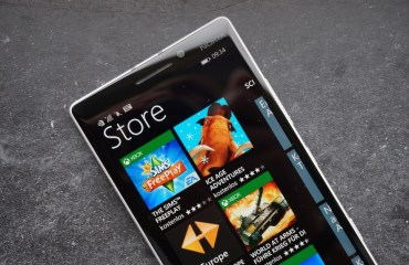 Windows Phone Store Header